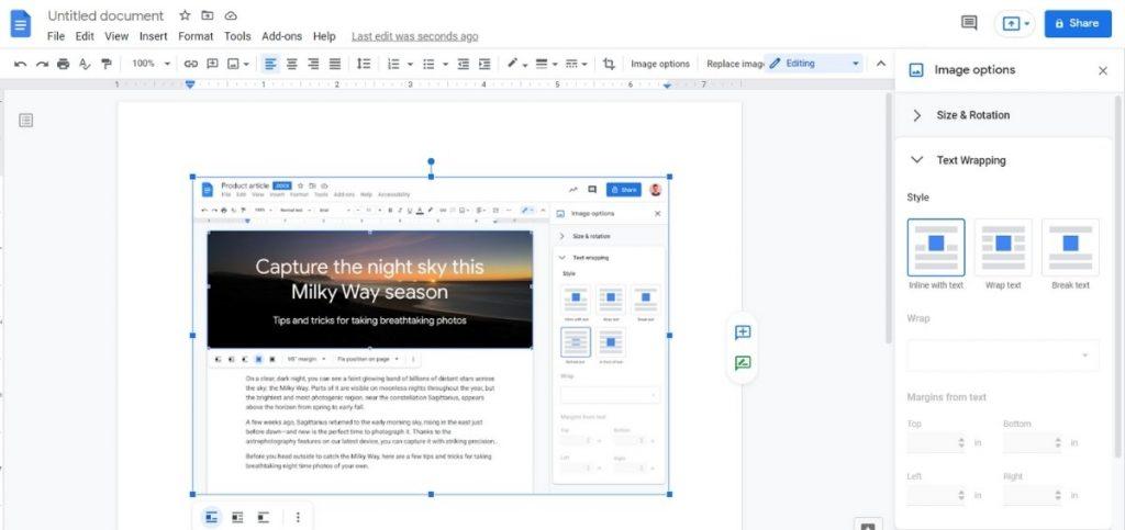 Google Dokümanlar yeni özelliğe kavuşuyor