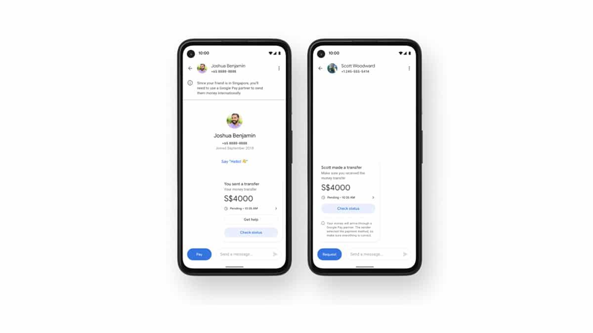 Google Pay Uluslararası Para Transferlerine Açılıyor