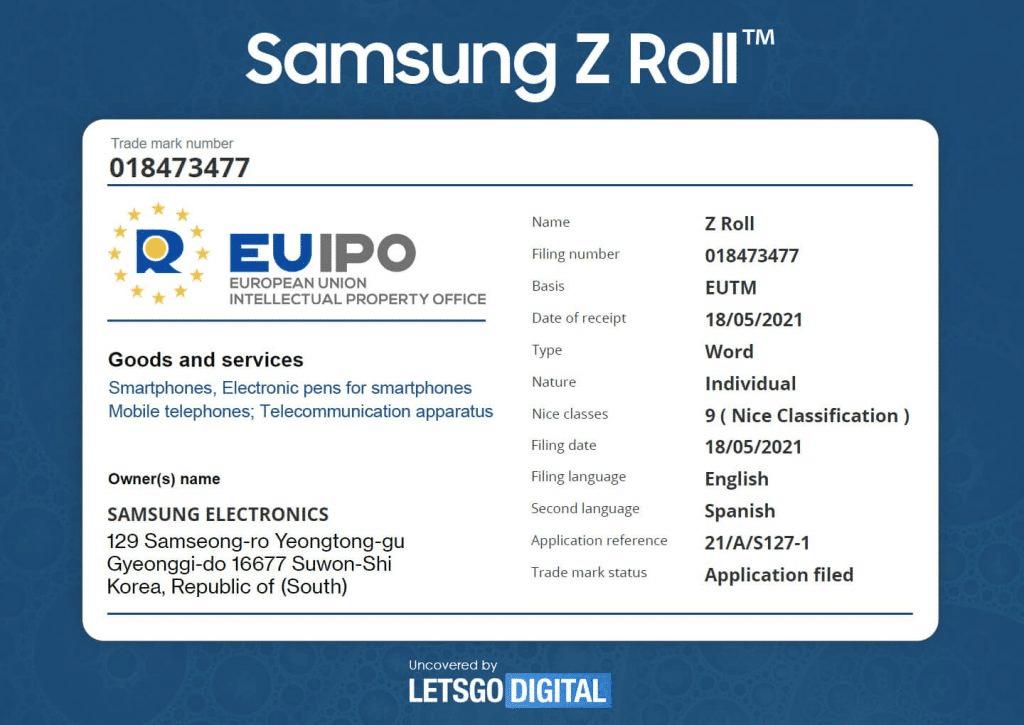 Samsung Galaxy Z Roll Hakkında Önemli Gelişme