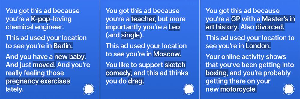 Signal Instagram Reklamları
