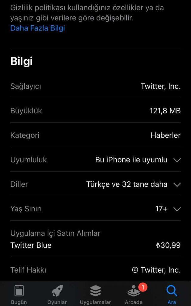 Twitter-Blue-Turkiye-fiyatiyla-sok-ediyor