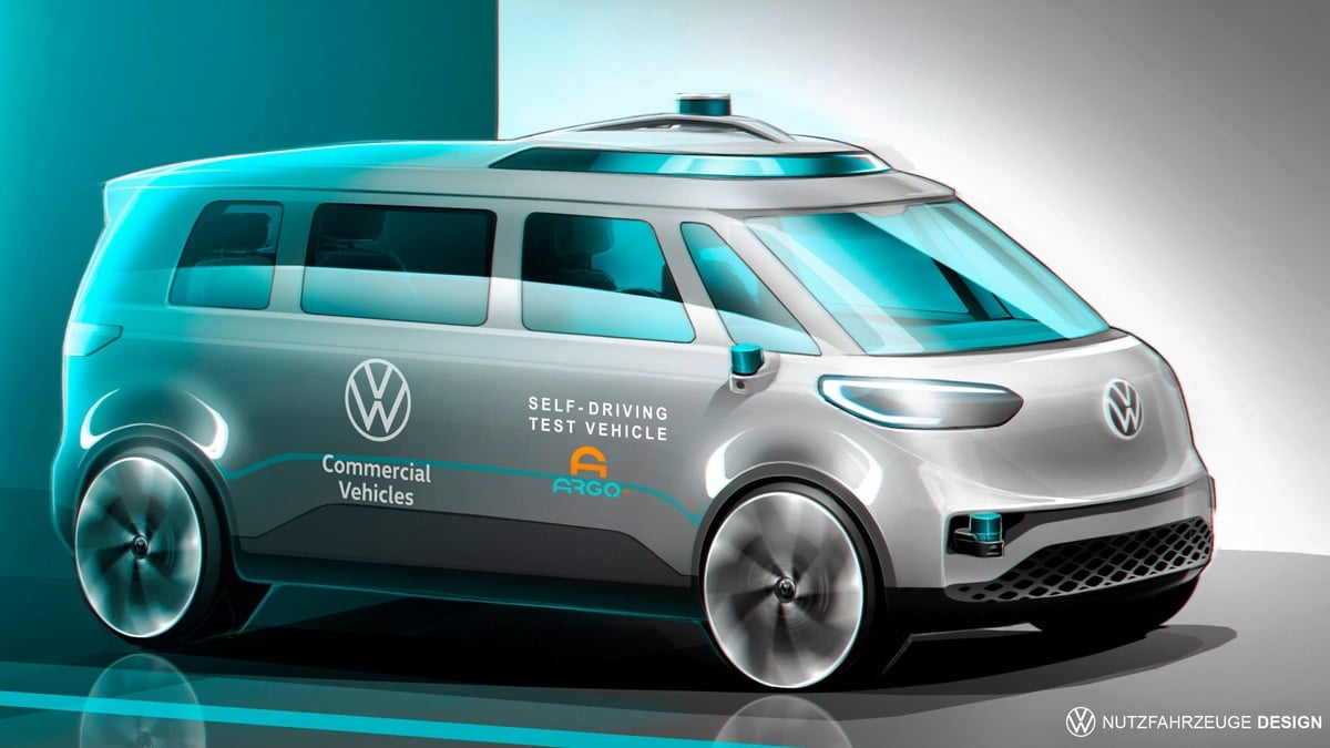 Volkswagen Sürücüsüz Aracını Test Etmeye Başlıyor