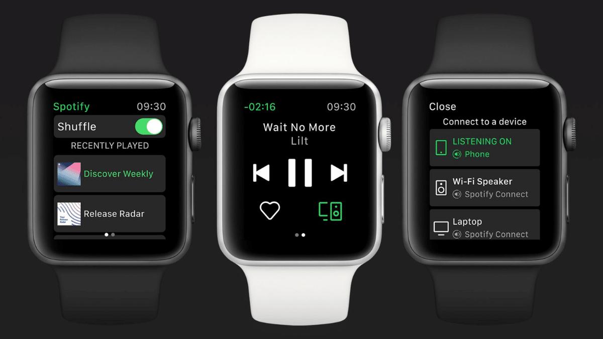 Apple Watch Spotify yeni özelliğe kavuşuyor.