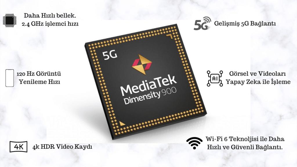 mediatek dimensity 900 özellikleri