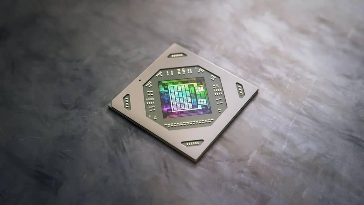 AMD RDNA 2 Mimarisine Sahip RX 6000M Serisi