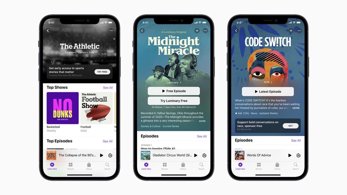 Apple Podcast Abonelik Sistemi Kullanıma Açıldı
