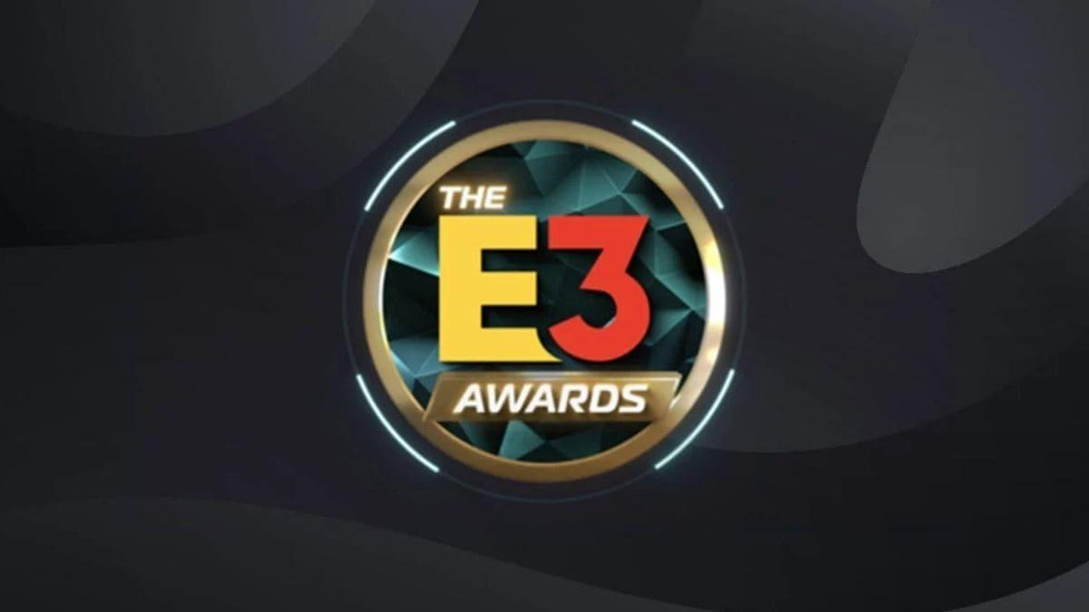 e3 ödülleri afişi