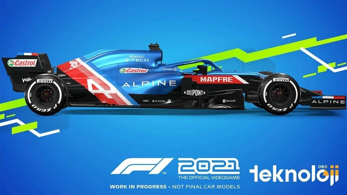 F1 2021 Oyunu - Alpine