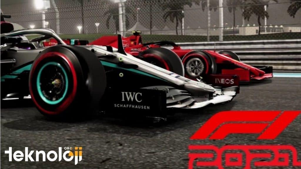 F1 2021 Oyunu - Mercedes
