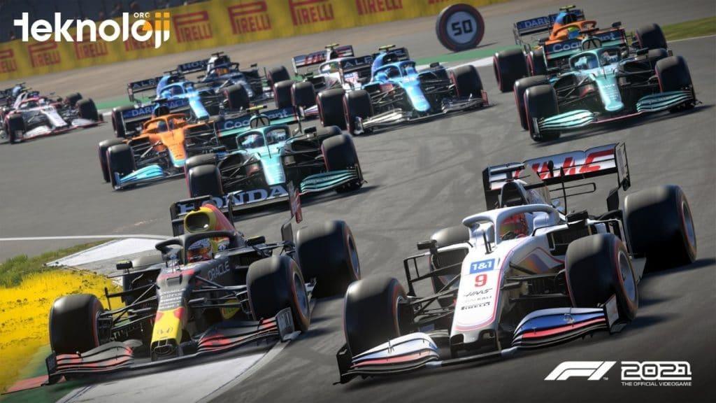 F1 2021 Oyunu - Yarış