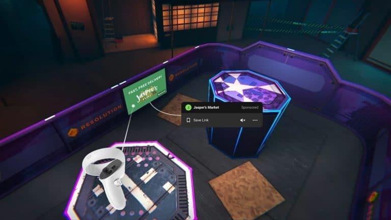 Facebook Oculus Quest Uygulamalarına Reklam Ekleyecek