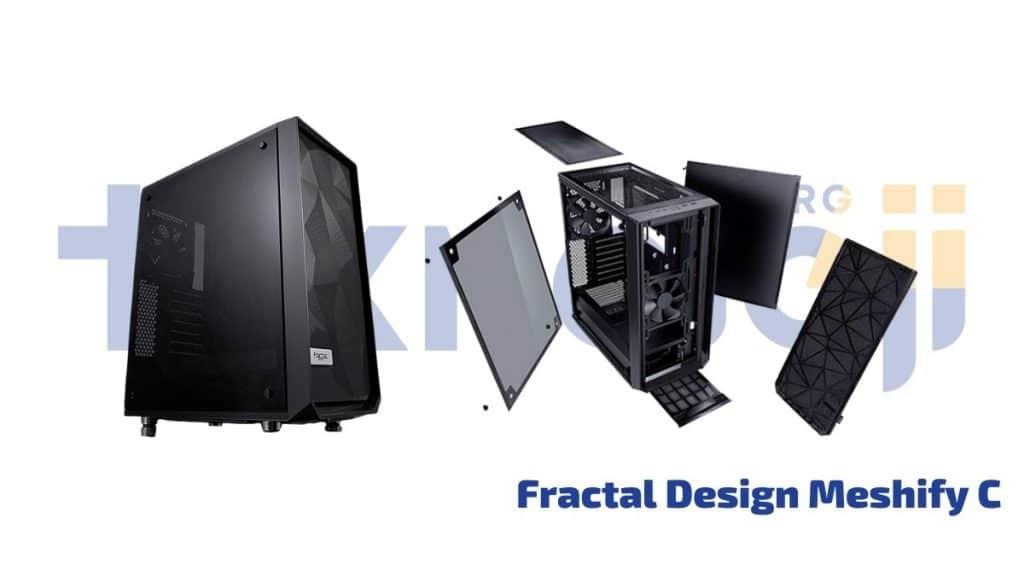 Fractal Design Meshify C - en iyi pc kasası