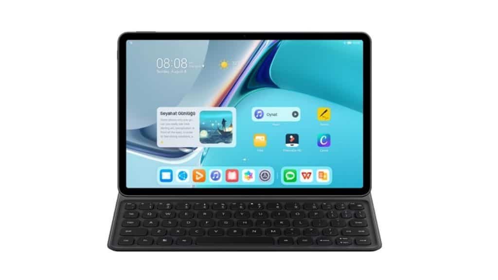 Huawei-MatePad-11 HarmonyOSli Huawei Ürünleri
