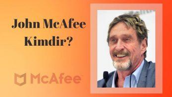 John McAfee: İlk Ticari Anti-virüs Program Yazılımcısı