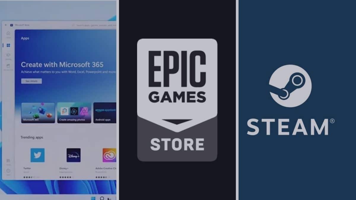 Microsoft 11 app store