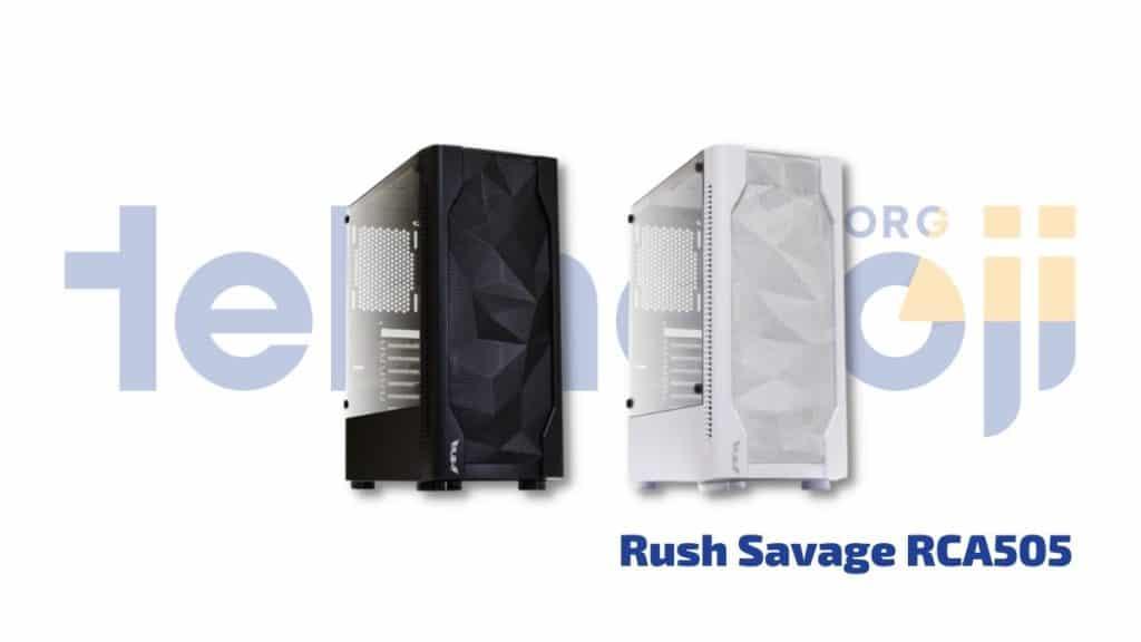 Rush Savage RCA505 - en iyi pc kasası