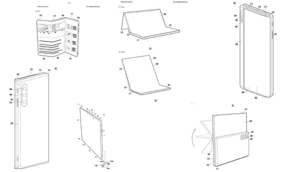 Samsung Katlanır Telefon Patenti