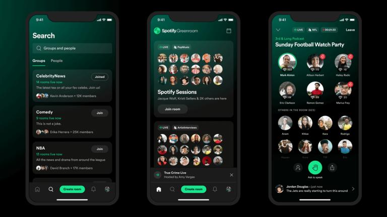 Spotify Greenroom Kullanıma Sunuluyor