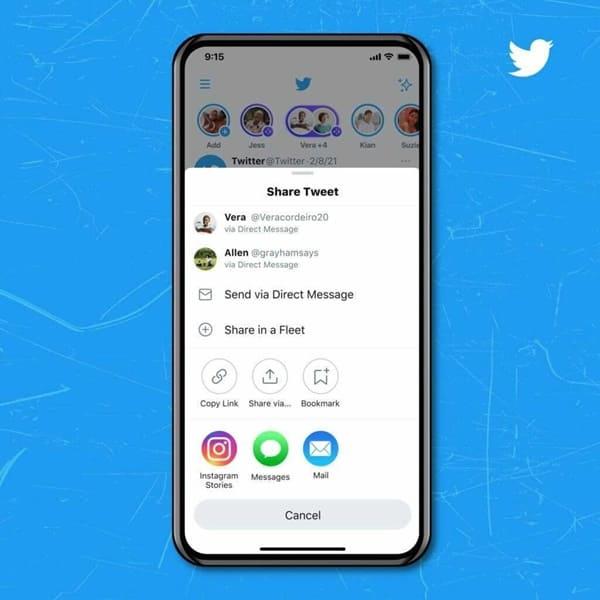 Tweetleri Instagram Hikâyelerinde Paylaşmak Artık Çok Kolay