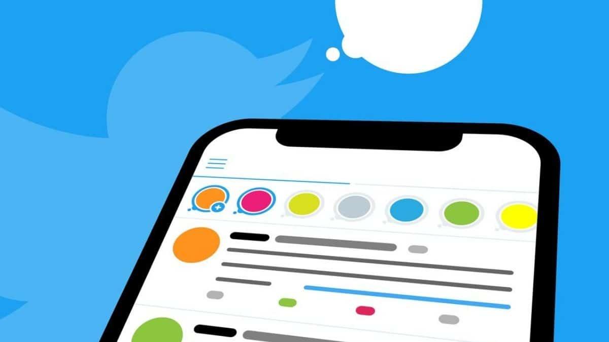 Twitter Fleets dikey reklamlar ile test ediliyor.