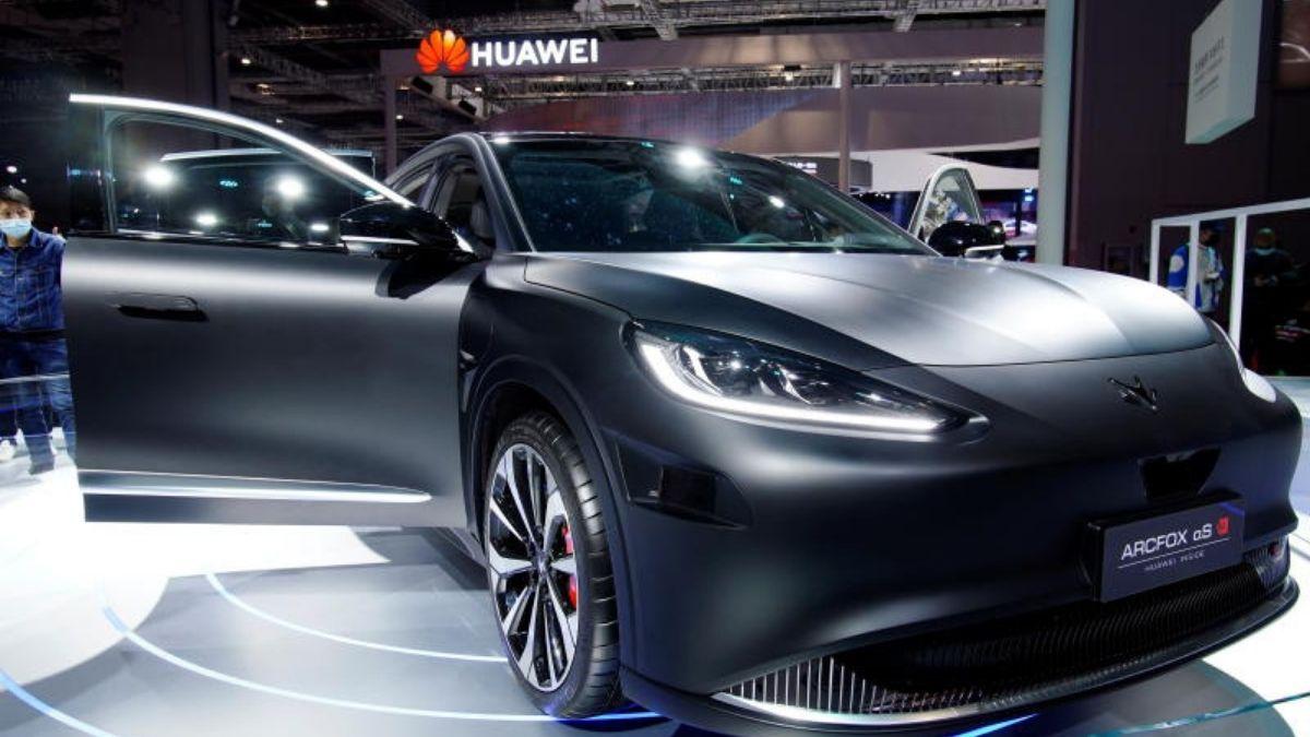 Huawei sürücüsüz otomobil teknolojisi