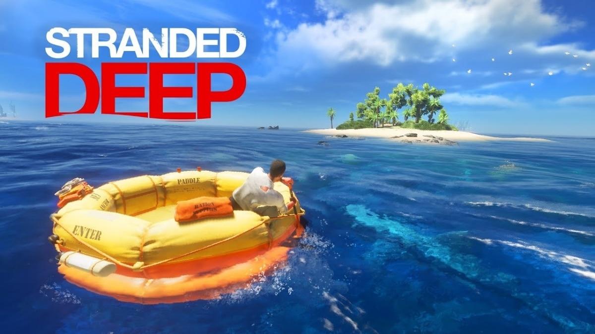 stranded deep oyunu -kapak