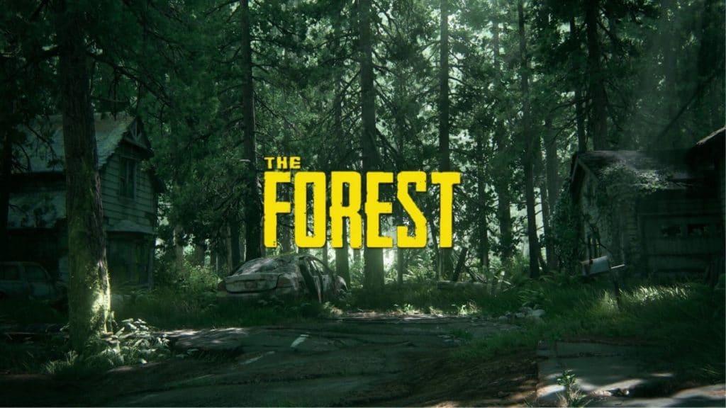 the forest - Arkadaşlarla Oynanabilecek Oyunlar