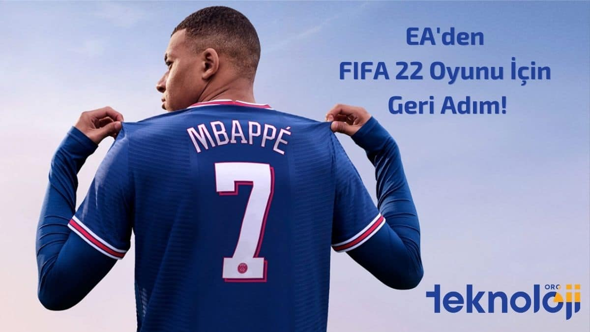 FIFA 22 oyunu kapak - teknolojiorg