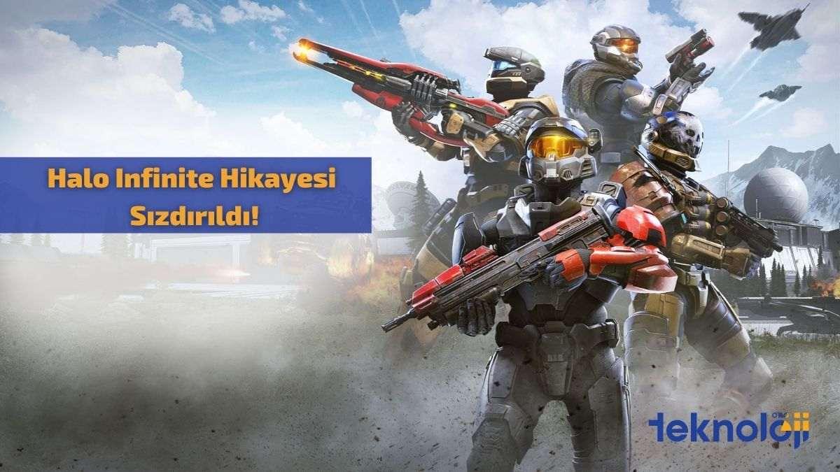 Halo Infinite Hikayesi Sızdırıldı