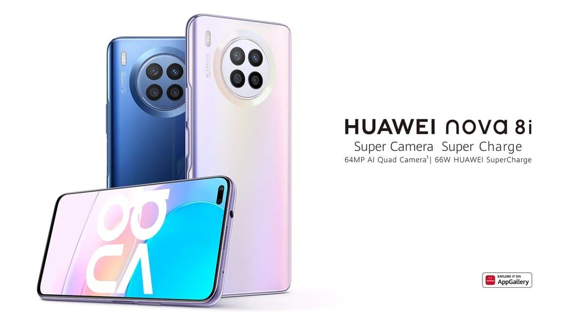 Huawei Nova 8i Tanıtıldı Snapdragon 662 ile Geliyor