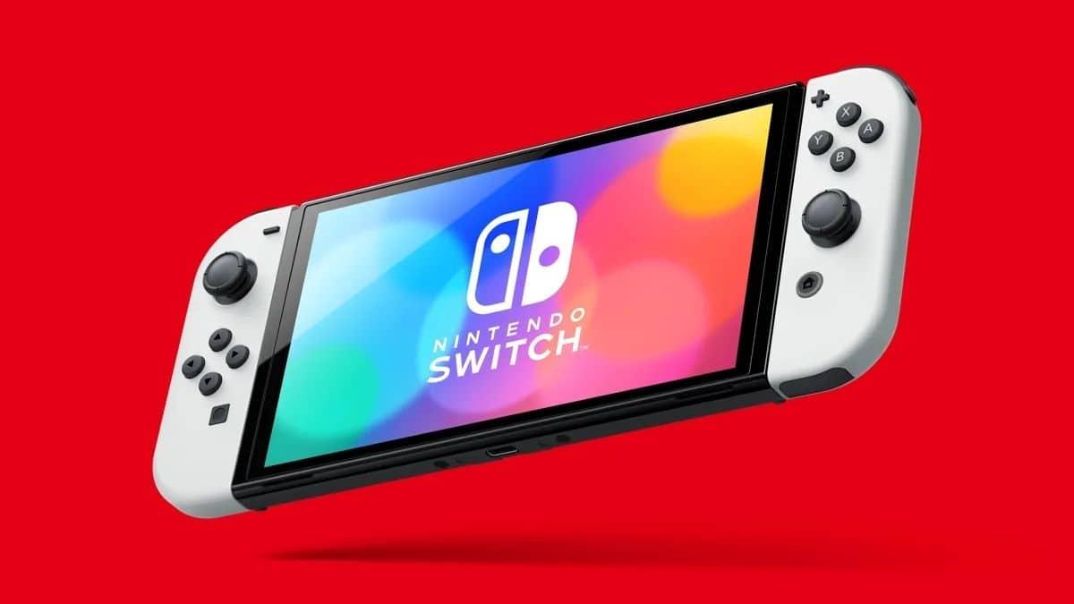 Nintendo OLED Switch kar