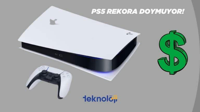 Sony rekora doymuyor