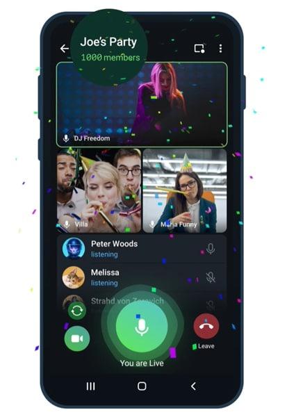 Telegram, Yeni Özelliklerde Aramalara Odaklandı