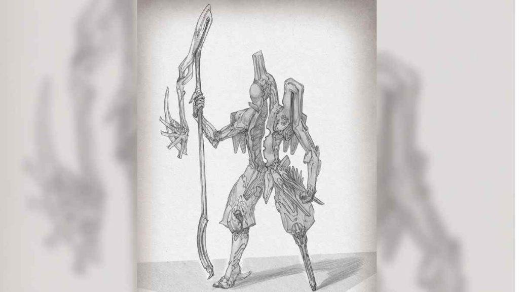 Warframe Caliban görseli