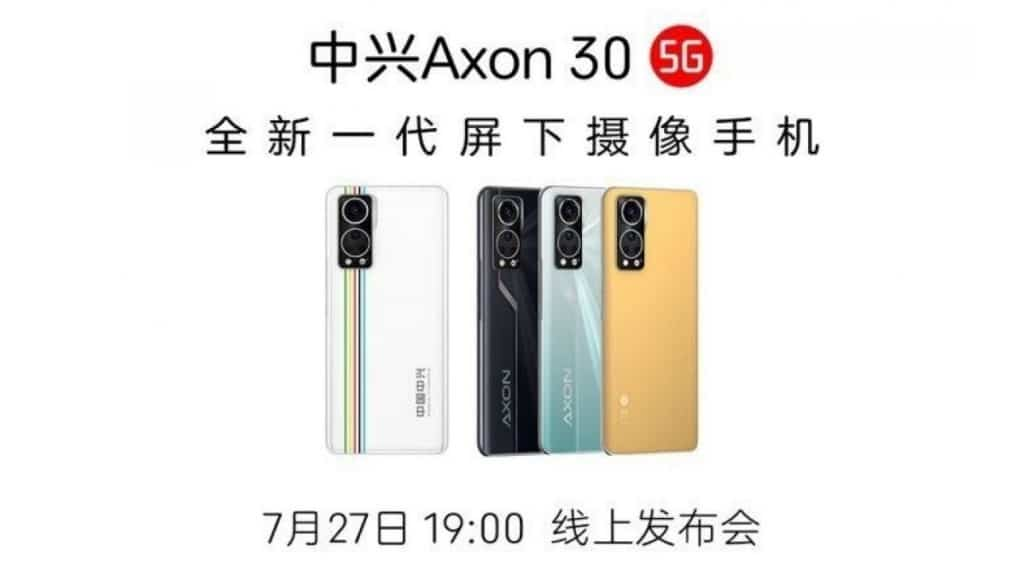 ZTE-Axon-30-ekran