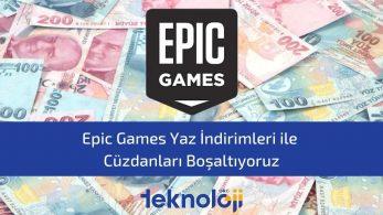 Epic Games Yaz İndirimleri – Hangi Oyunlar Alınır?