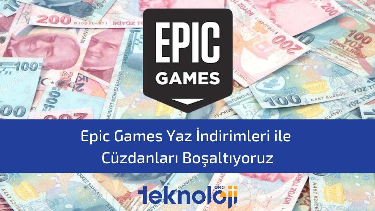 epic games yaz indirimleri
