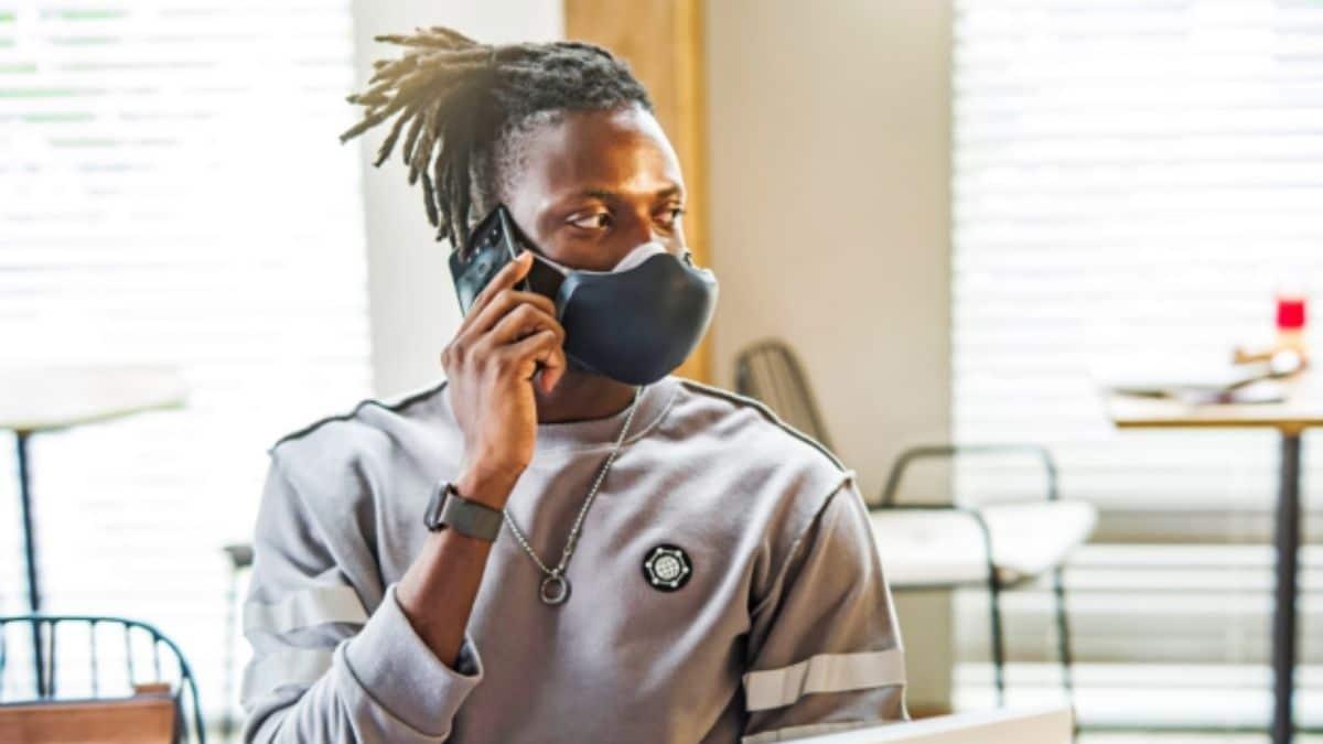 lg hava temizleyici maske mikrofon