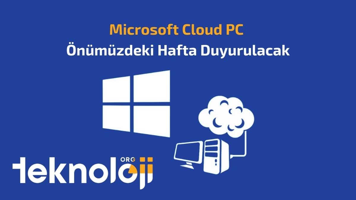 microsoft cloud pc - teknolojiorg