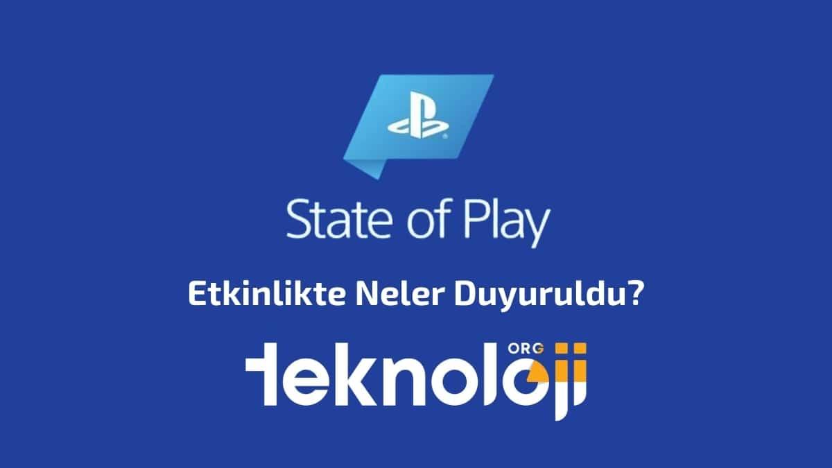 state of play - teknolojiorg