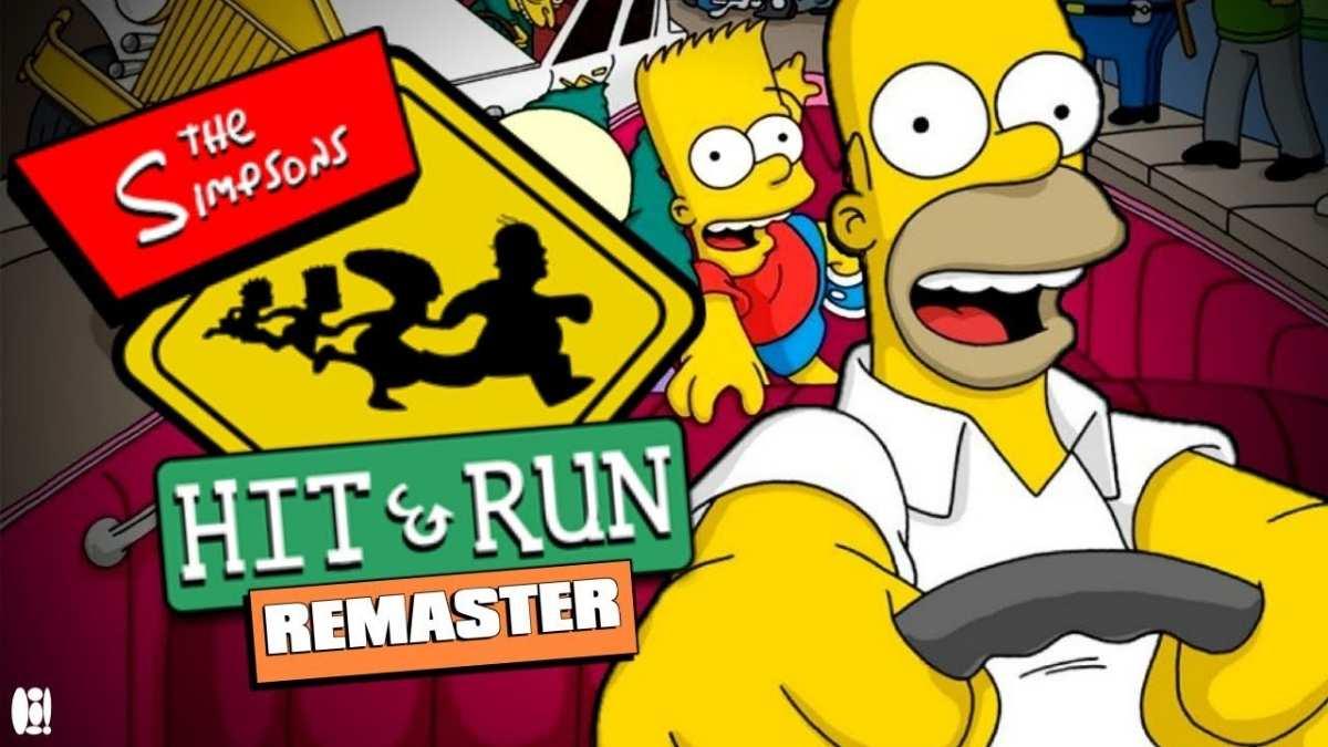 the simpsons hit & run remaster