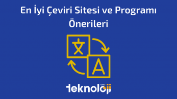 En İyi Çeviri Sitesi ve Programı Önerileri – 2021