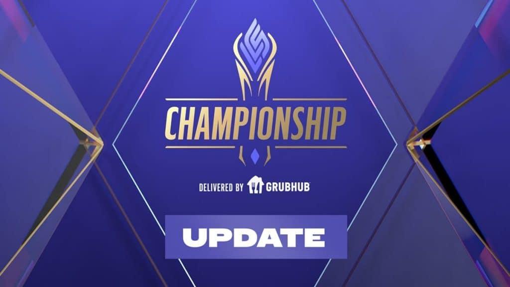 LCS Şampiyonasının Son Maçları Taraftarsız Olacak