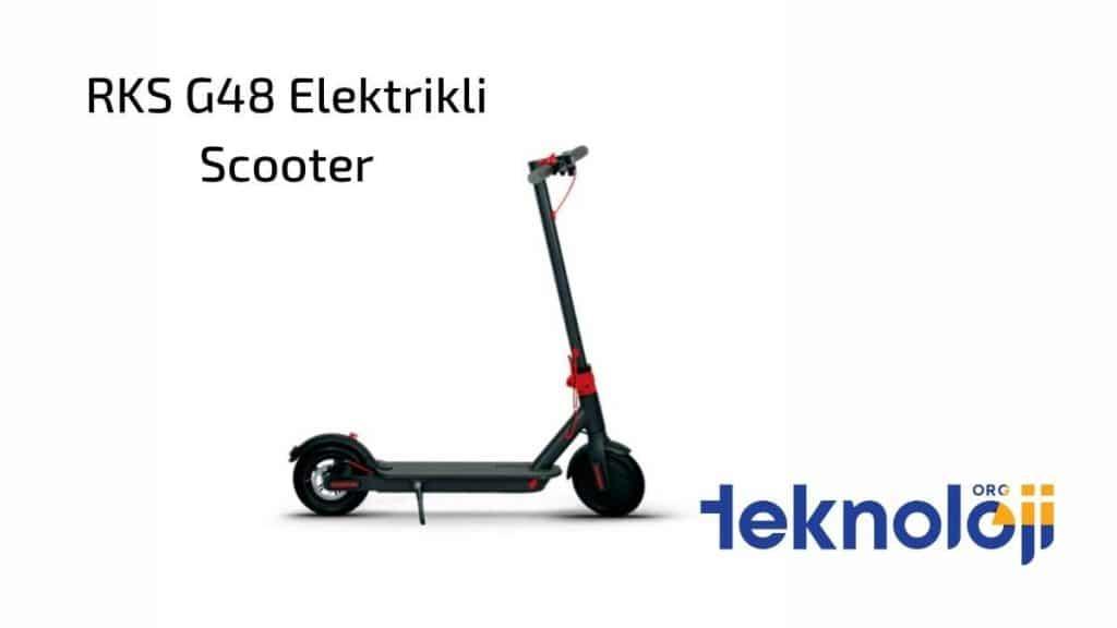 RKS G48 Elektrikli Scooter