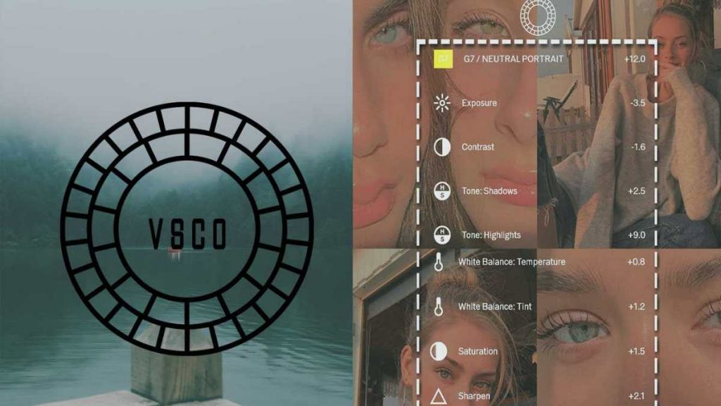 VSCO uygulaması