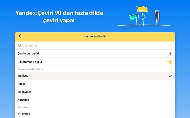Yandex Çeviri En İyi Çeviri Sitesi ve Programı