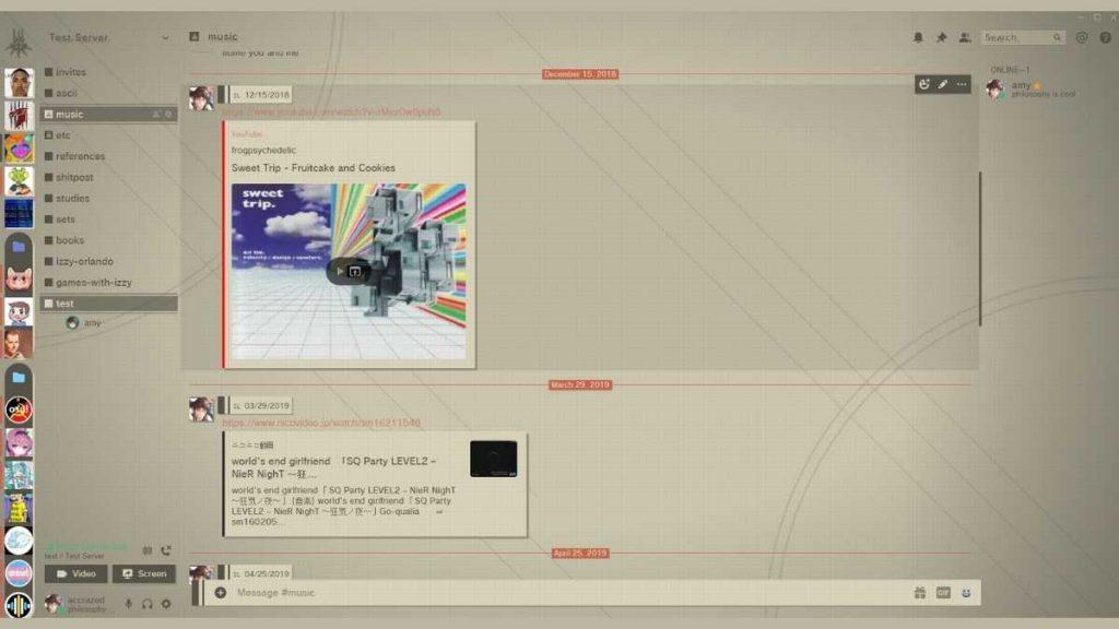 discord nier automata teması discord tema değiştirme