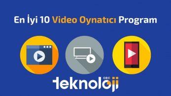 En İyi Video Oynatıcı Programlar – 2021