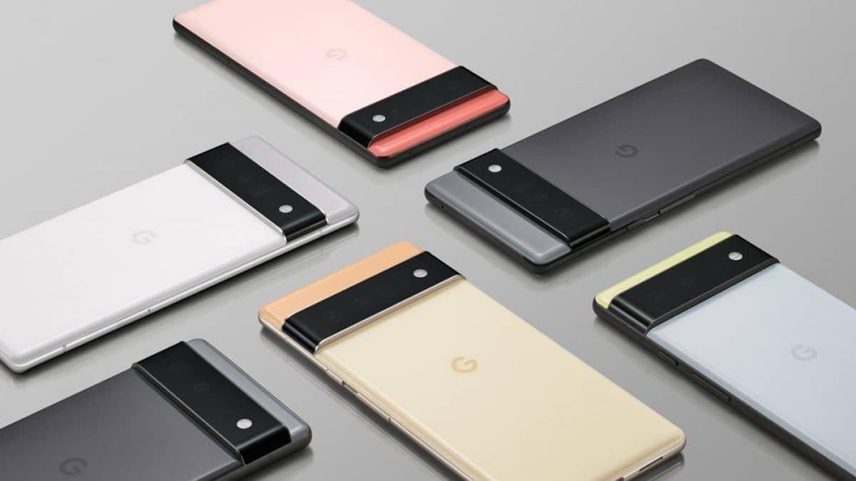 google pixel 6 serisi