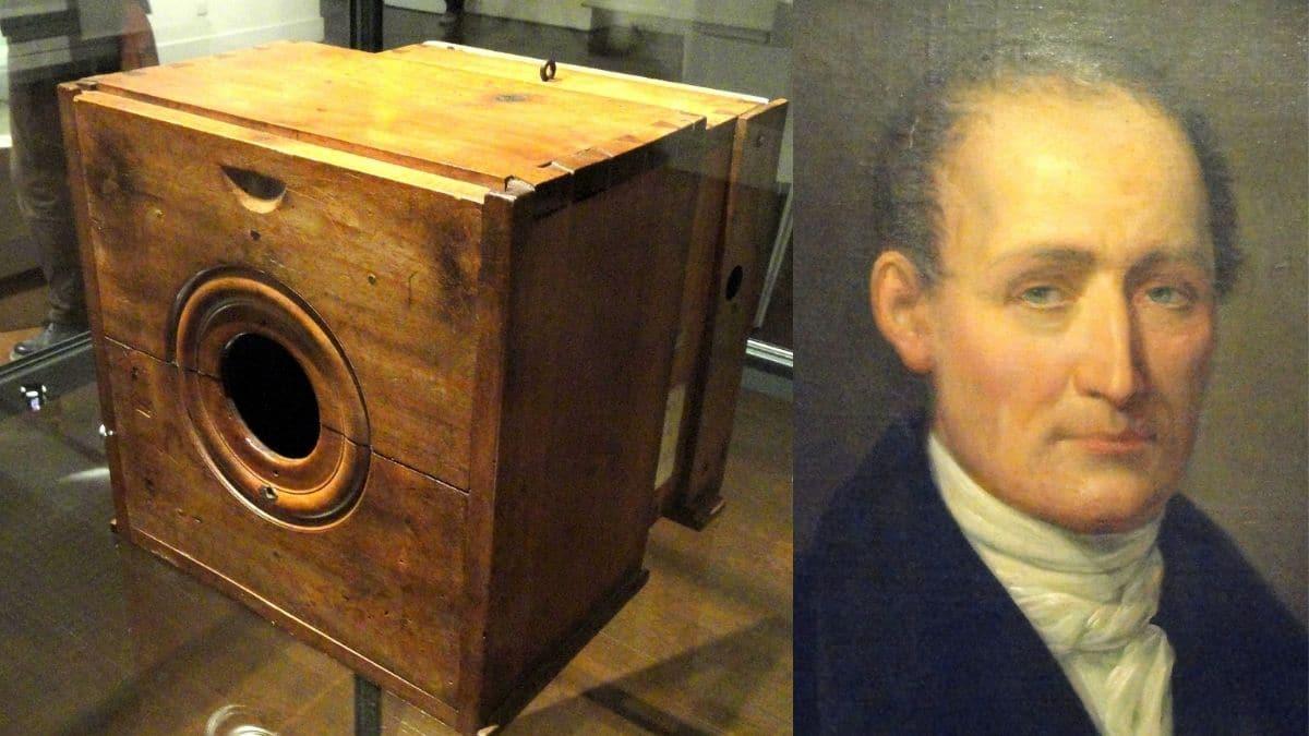 ilk fotoğraf makinesi